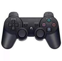 Controle Gamer Com Fio para Ps3 Dualshock Playstation 3 PC Notebook Computador - Playshop eletrônicos