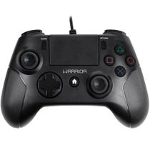 Controle Gamer Warrior Para Ps4 E Pc Preto Js083 Multilaser