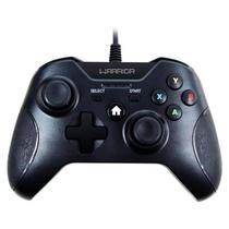 Controle Gamer Warrior Para XBOX One E PC JS078 Multilaser -