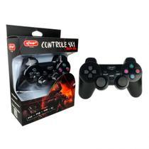 Controle Joystick 4 em 1 Sem Fio USB/PSX 10 Botões Sistema de Vibração PC/PS1/PS2/PS3 KP-5423 - Knup