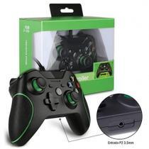 Controle Joystick Com 210 cm de Fio Usb para Xbox One e Pc - Feir -