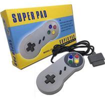 Controle Joystick Com Fio Para Super Nintendo Snes FEIR CR-001 -