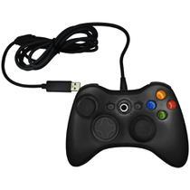 Controle Joystick com Fio Para Xbox 360 - Maxmidia