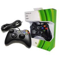 Controle Joystick Com Fio Usb Para Xbox 360 e Pc FEIR FR-305 -