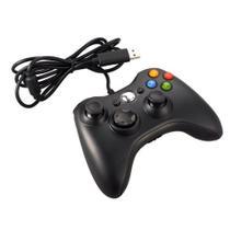 Controle joystick com fio usb para xbox 360 e pc xls-4003-071 -