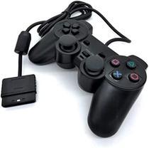 Controle joystick com fio vídeo game console ps2 - Altomex