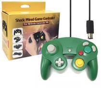 Controle Joystick Com Interface Para Nintendo Game Cube Nintendo Wii e Wiiu FEIR GF-5101 VERDE -