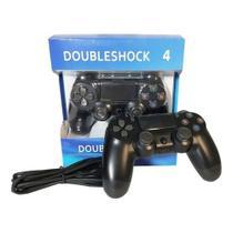 Controle Joystick Doubleshock  para Play4 Com Fio WIRED -