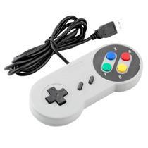 Controle Joystick Modelo Super Nintendo Snes Com Interface Para PC FEIR CR-008 -