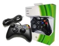 Controle Joystick Para Xbox 360 E Pc Com Fio 2 Metros Cabo - Tl