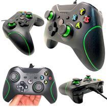 Controle Joystick Para Xbox One Console e PC Com Fio USB -
