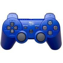 Controle Joystick sem Fio PS3 Azul - Playgame
