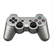 Controle Joystick sem Fio PS3 Prata - Playgame