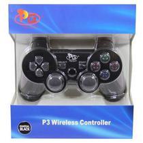 Controle Joystick sem Fio PS3 Preto - Playgame