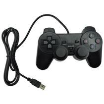 Controle Joystick Usb Analogico Dualshock Para Pc E Notebook - Inova -