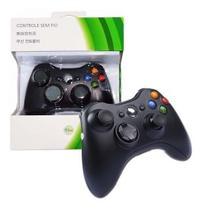Controle Joystick Xbox 360 Wireless Sem Fio Slim Fat Game - X360