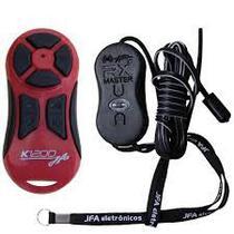 Controle Longa Distância JFA 1200 Vermelho e Preto -