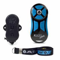 Controle Longa Distância JFA K600 com Central - Preto/Azul -