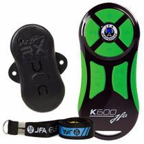 Controle Longa Distância Jfa K600 Com Central - Preto/Verde -
