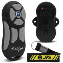 Controle Longa Distancia Jfa K600 Preto/Cinza -