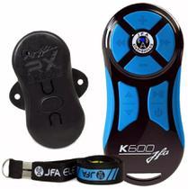 Controle Longa Distancia JFA K600 Preto com Botão Azul 600 Metros -