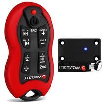 Controle Longa Distância Stetsom SX-2 500 Metros LED 16 Funções Vermelho -