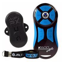 Controle Longa Distância Universal JFA K600 Preto e Azul -