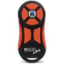 Controle Longa Distância Universal JFA K600 Preto e Laranja -