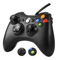 Controle Manete Joystick Para Pc Xbox 360 Tv Com Fio Usb - Ponto Do Nerd