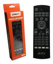 Controle Mini Teclado Air Mouse Wireless Sem Fio Android Tv - Controle Rgb