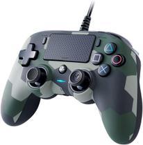 Controle Nacon Wired Compact Controller Camo Green (Com fio, Camuflado Verde) - PS4 e PC - Sony