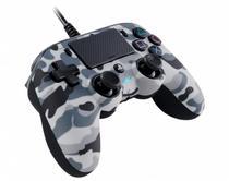 Controle Nacon Wired Compact Controller Camo Grey (Com fio, Camuflado Cinza) - PS4 e PC - Sony