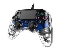 Controle Nacon Wired Illuminated Compact Controller Blue (Com fio, Iluminado, Azul) - PS4 e PC - Sony