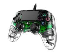 Controle Nacon Wired Illuminated Compact Controller Green (Com fio, Iluminado, Verde) - PS4 e PC - Sony
