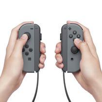 Controle / Nintendo / Joy-Con (L/R) - Cinza -