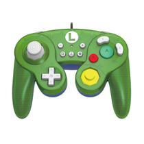 Controle Nintendo Switch com fio Hori Super Smash Bros Luigi -