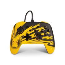 Controle Nintendo Switch Pokemon Pikachu Lightning - PowerA Com Fio -