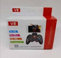 Controle Para Celular Game Pad Joystick Bluetooth V8 -