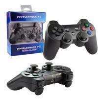 Controle Para Jogos Ps3 Wireless Sem Fio Doubleshock -