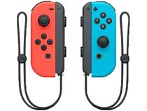 Controle para Nintendo Switch sem Fio Joy-Con - Vermelho e Azul