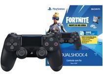 Controle para PS4 sem Fio Dualshock 4 Neo Versa - Sony Preto