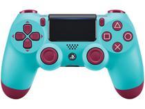 Controle para PS4 sem Fio DualShock 4 Sony - Berry Blue