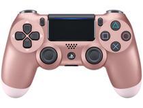 Controle para PS4 sem Fio Dualshock 4 Sony - Rosa Dourado