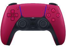 Controle para PS5 sem Fio DualSense Sony - Cosmic Red
