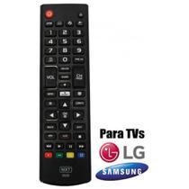 Controle Para SMART TV LG/SAMSUNG Com Funcao 3D e FUTEBOL 1318 MXT -