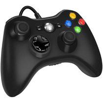 Controle para Video Game Xbox 360 Com Fio Joystick Console e Pc. - Dex