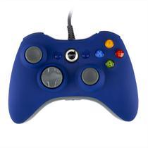 Controle Para Xbox 360 Dazz 624503 Rubber Pad Com Fio USB Azul -