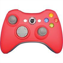 Controle Para Xbox 360 Dazz Rubber Pad Com Fio USB Vermelho -