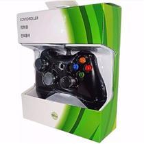 Controle Para Xbox 360 E Pc Com Fio Joystick - Tltl