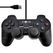 Controle PC Joystick Com Fio USB Inova CON-203Z -